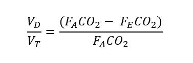 Rearranged Bohr equation for physiological dead space.jpg
