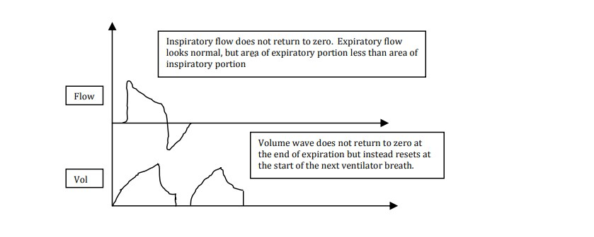 flow and volume-time waveform from Question 30 - Paper 1 of 2011